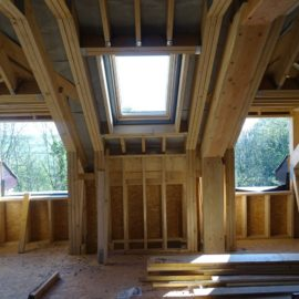 The roof is on and the internal bedrooms are in…