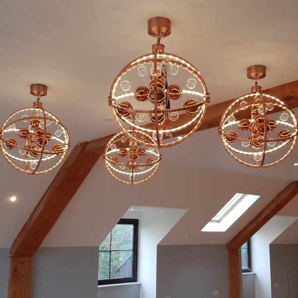 Feature Lighting In The Function Room