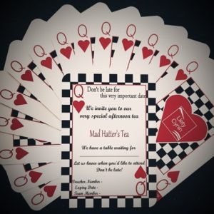 Mad Hatter Afternoon Tea Vouchers