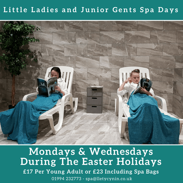 Little Ladies & Junior Gents Spa Day This Easter